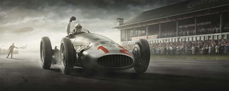 Recreating the Silver Arrow Racing Era