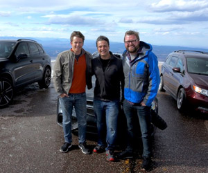 Top Gear Cool Cars for Grownups Hits Pikes Peak