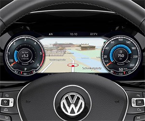 Volkswagen's Amazing New Active Info Display
