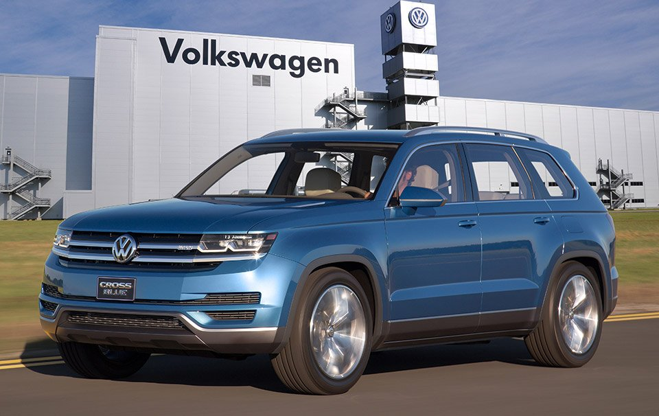 VW 7-Seat SUV Headed to U.S. for Production
