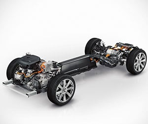 Volvo Announces XC90 400hp Hybrid Powertrain