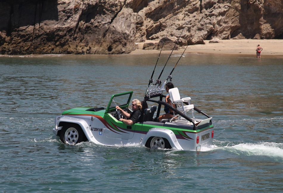 Watercar Panther World S Fastest Amphibious Vehicle
