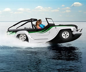 WaterCar Panther: World's Fastest Amphibious Vehicle