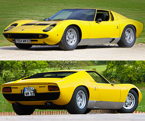 Rare 1968 Lamborghini Miura P400 up for Auction
