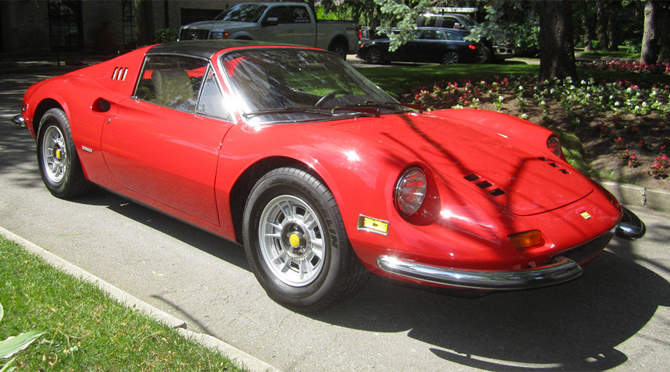 1974 Ferrari Dino 246 Gts Turns Up On Ebay 95 Octane