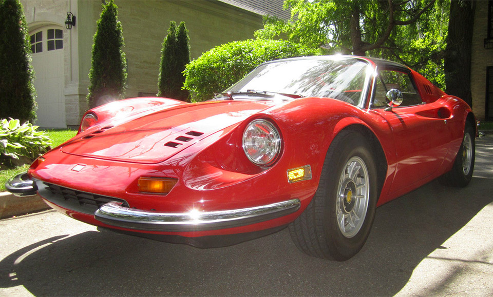 1974 ferrari dino 246 gts turns up on ebay 95 octane. Black Bedroom Furniture Sets. Home Design Ideas