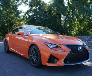 Sneak Preview: 2015 Lexus RC F