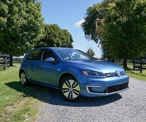 2015 Volkswagen e-Golf: Test Drive
