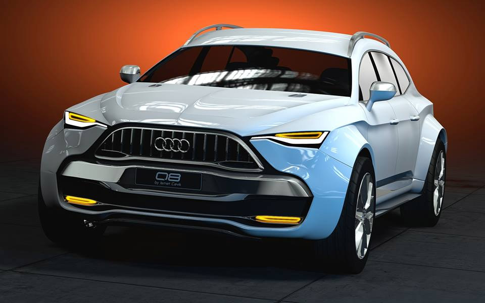 Audi Q8 Design Concept by Ismet Çevik - 95 Octane
