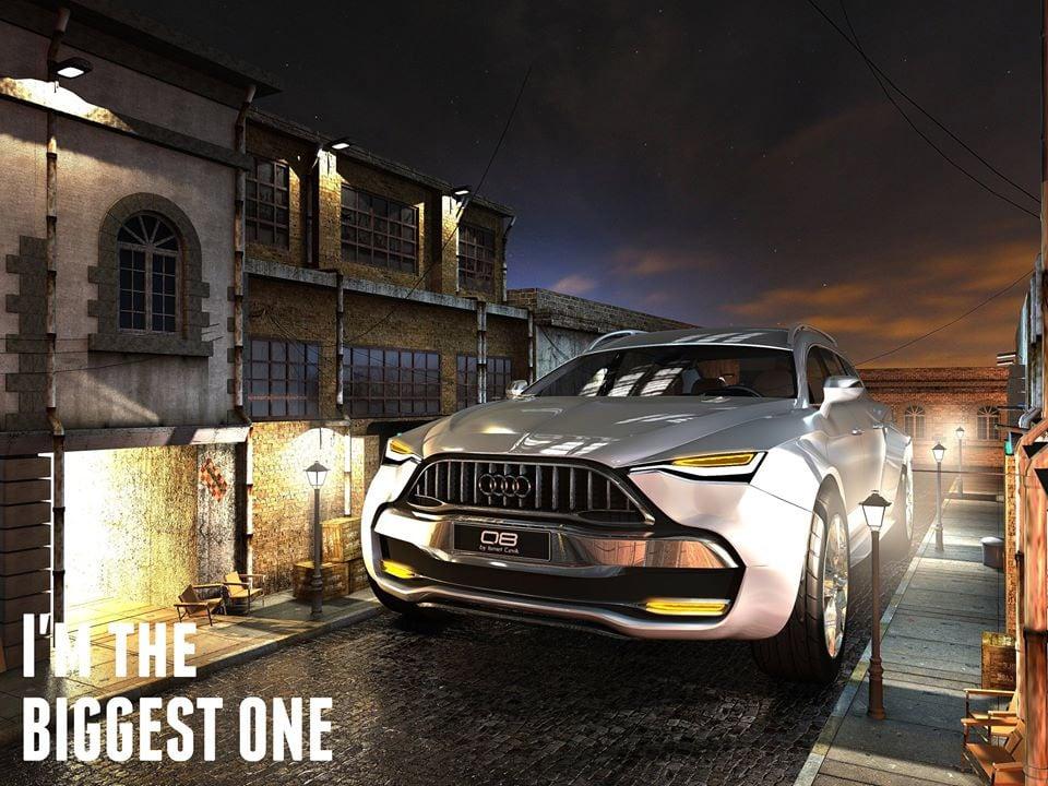 Audi Q8 Design Concept by Ismet Çevik
