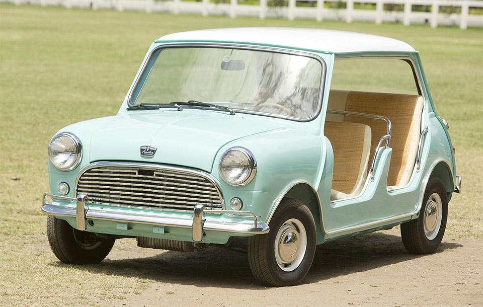 MINI Beach Car Fetches $181,500 at Auction