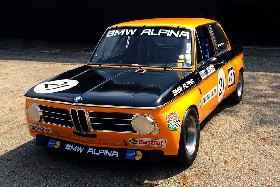 BMW Bringing a 1970 Alpina 2002ti to the Races