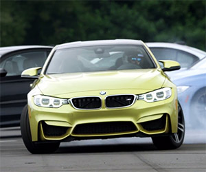 First BMW M4 Drifts Its Way Into the M Family