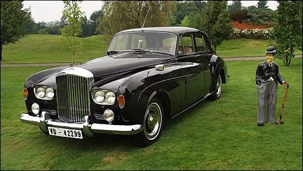 Charlie Chaplin's 1964 Bentley S3 Hits eBay