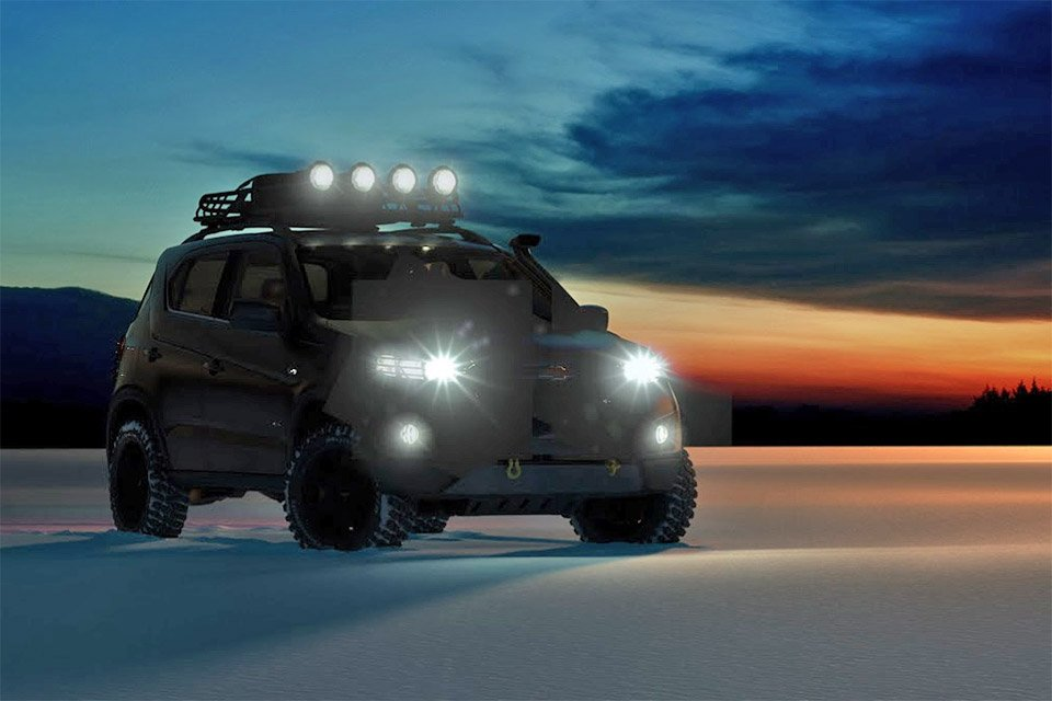 Chevrolet Niva Concept Teased Before Moscow