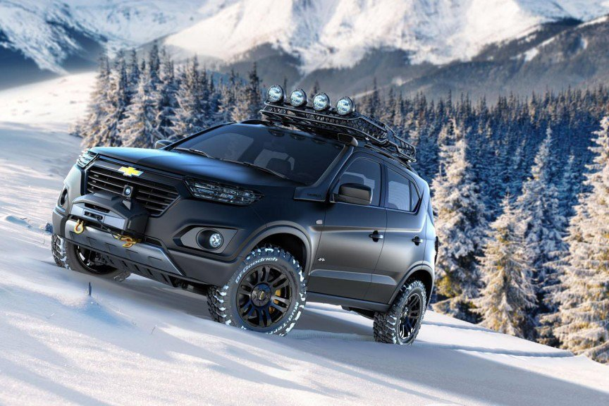 Chevrolet Reveals the Niva Concept SUV in Moscow