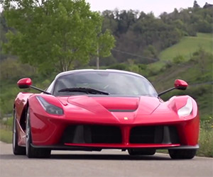 Chris Harris Takes a LaFerrari to the Test Track