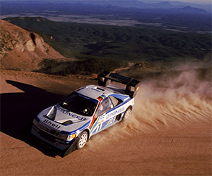 Peugeot 405 T16 GR Climbs Pikes Peak in 1988