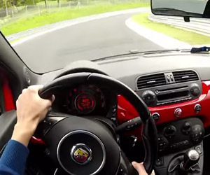 A Fast Nürburgring Lap in a Fiat 500 Abarth