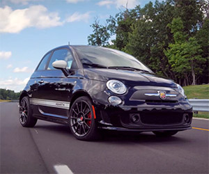 Fiat Shows off 2015 500 Abarth Automatic