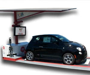 Fiat Launches Solar EV Charger in San Diego
