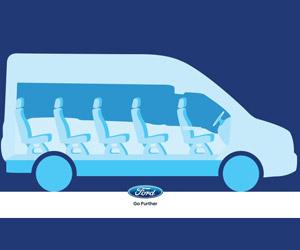 Ford Transit Van Gets 15-Foot-Long Side Airbag