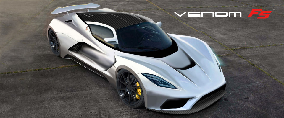 Hennessey Venom F5 Aims to Hit 290mph
