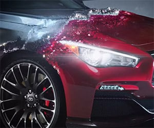 Infiniti Morphs the Q50 into a Stunning Eau Rouge