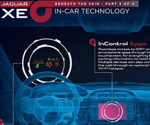 Jaguar XE In-Car Technology Revealed