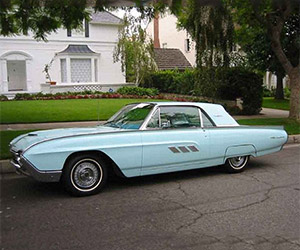 Joe Strummer's 1963 Ford Thunderbird on eBay