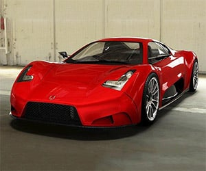 The JOSS JP1: A Crowdfunded Supercar