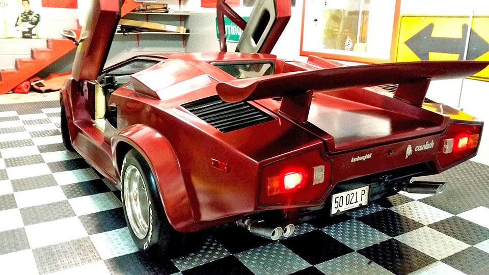 Lamborghini Countach Fiero Kit Car On Ebay 95 Octane