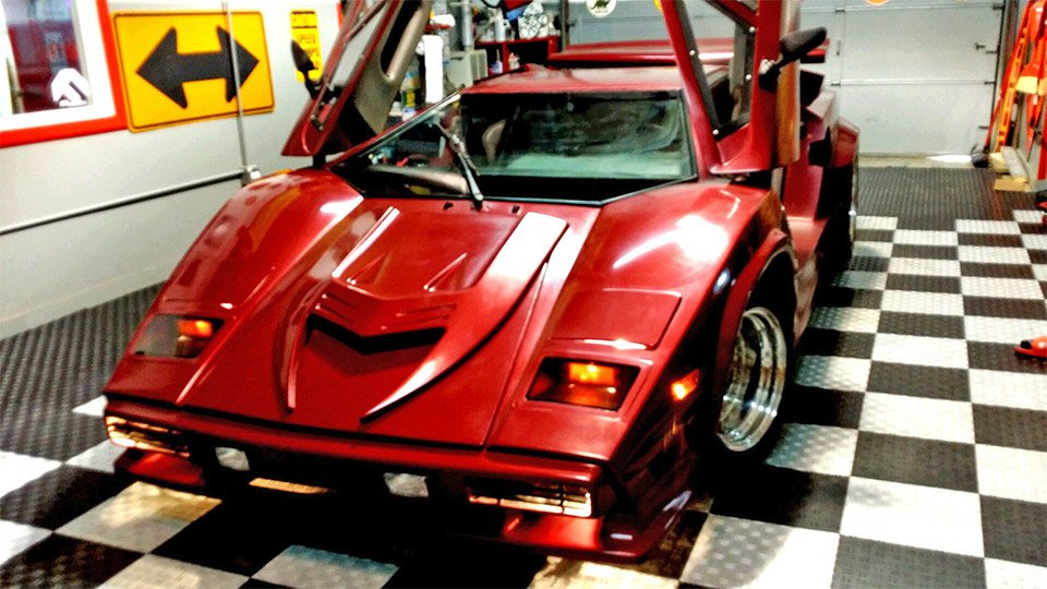 Lamborghini Countach Fiero Kit Car on eBay - 95 Octane