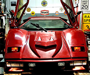 Lamborghini Countach Fiero Kit Car on eBay