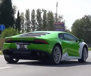 13 Lamborghini Huracáns Make Some Noise
