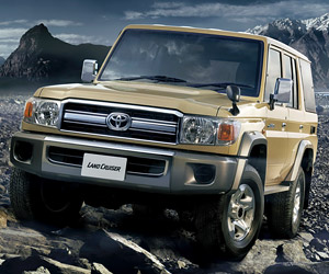 Toyota Land Cruiser 70 Gets Re-released in Japan