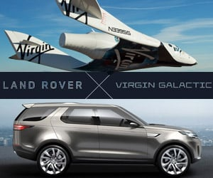 On the Land Rover and Virgin Galactic Partnership