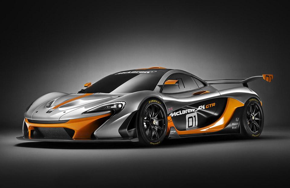 Track-Only McLaren P1 GTR Revealed