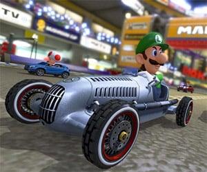Drive Classic Mercedes-Benz Cars in Mario Kart 8