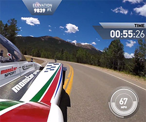 Monster Tajima's Pikes Peak Record Attempt