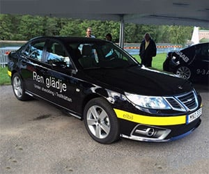 NEVS Shows Saab 9-3 Aero-Based Electric Vehicle