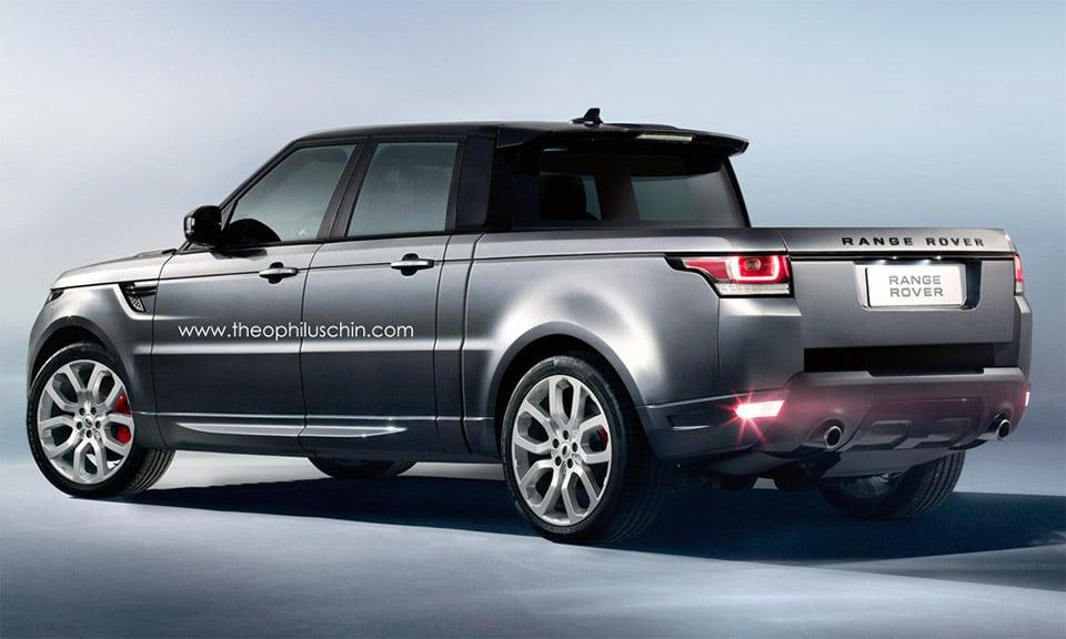 range rover sport truck concept 95 octane. Black Bedroom Furniture Sets. Home Design Ideas