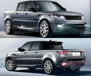 Range Rover Sport Truck Concept