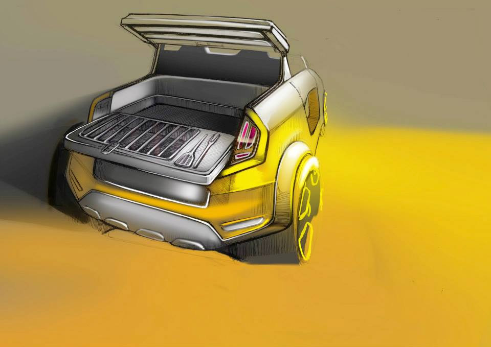 Renault Twing'Hot Concept Ready to Cook