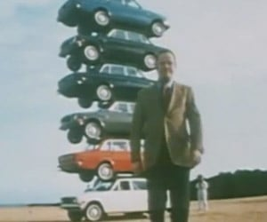 From the Vaults: A Stack of Volvo 140s