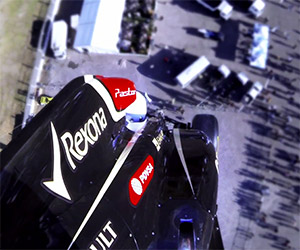The Stig Bungee Jumps in a Formula 1 Car