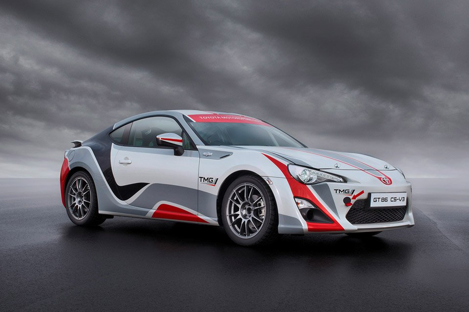Toyota's New GT86 CS-R3 Rally Car Ready to Race