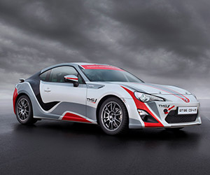 Toyota's New GT86 CS-R3 Rally Car Ready to Race
