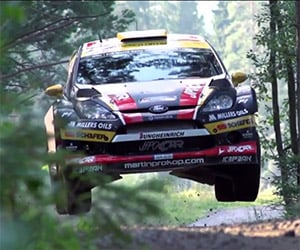 Visit Rally Finland with the Czech National Team
