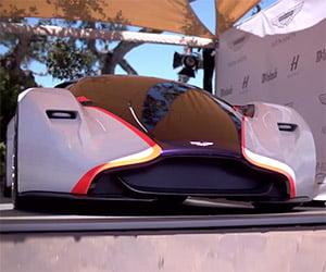 Designing the Aston Martin DP-100 Vision Gran Turismo